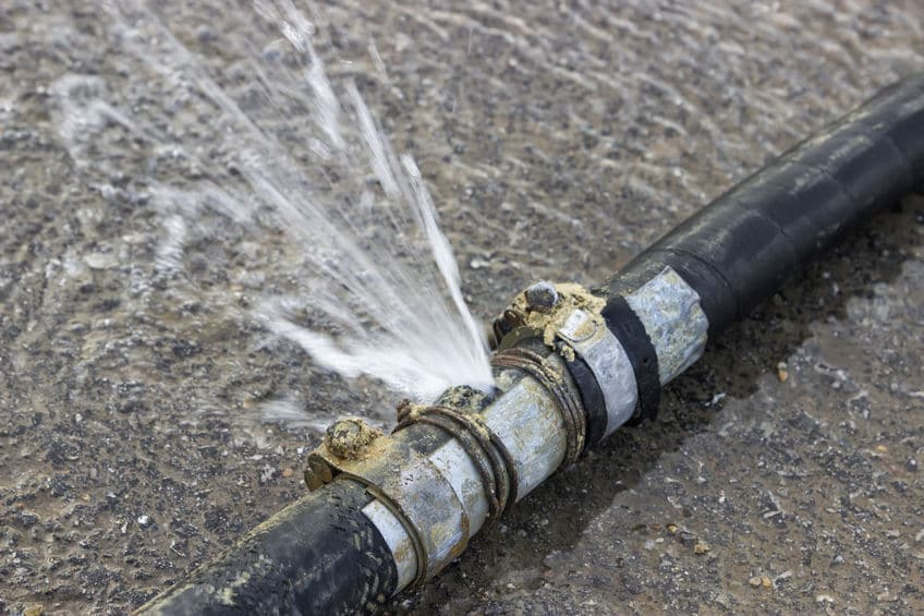Signs of Water Line Issues