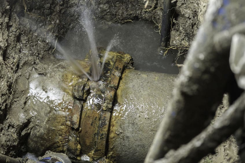 water line repair in Seattle, WA