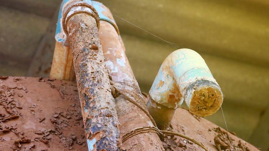 water line repair in Bellevue